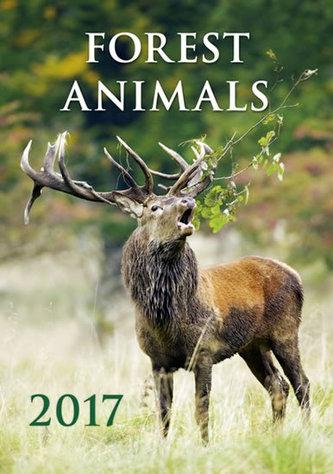 Kalendář nástěnný 2017 - Forest Animals - neuveden