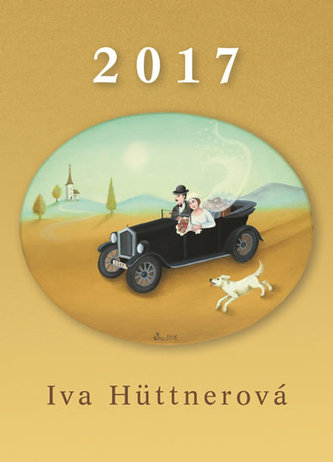 Kalendář 2017 - Iva Hüttnerová - nástěnný - Hüttnerová Iva