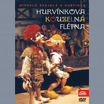 Hurvínkova kouzelná flétna - DVD - Divadlo S + H