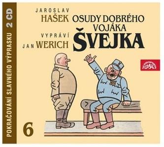 Osudy dobrého vojáka Švejka 6.díl - 2CD - Hašek Jaroslav
