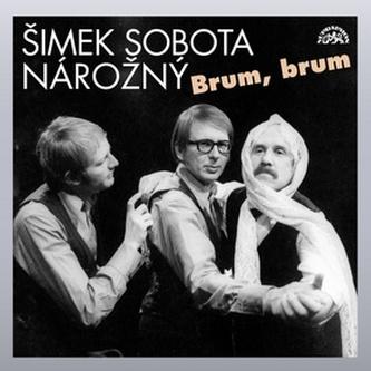 Brum, brum - Šimek,Sobota,Nárožný - CD - kolektiv