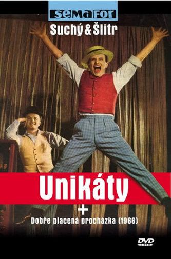 Unikáty + Dobře placená procházka - DVD - Semafor