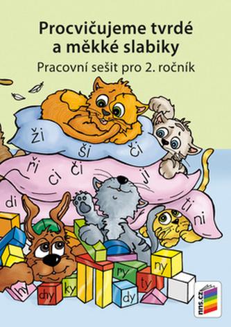 Procvičujeme tvrdé a měkké slabiky - Český jazyk pro 2. ročník ZŠ - duhová řada - neuveden
