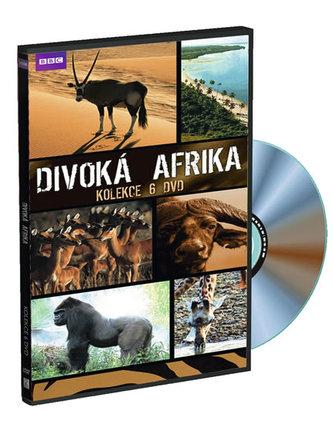 Divoká Afrika - kolekce 6DVD - neuveden