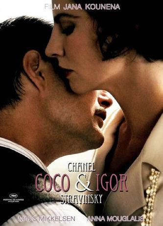 Coco Chanel a Igor Stravinsky - DVD - neuveden
