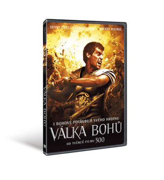 Válka bohů - DVD - neuveden