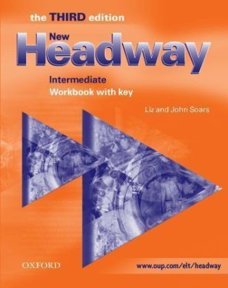 New Headway Intermediate Workbook with key - John a Liz Soars