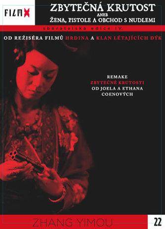 Zbytečná krutost aneb žena, pistole a obchod s nudlemi - DVD - neuveden