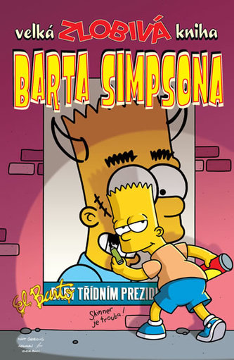 Simpsonovi - Velká zlobivá kniha Barta Simpsona - Groening Matt