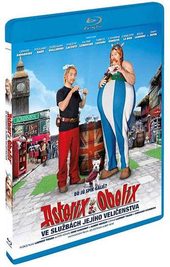 Asterix a Obelix ve službách Jejího Veličenstva - 3D/Bluray - neuveden