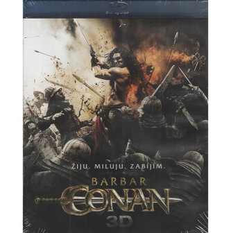 Barbar Conan - 3D/Bluray - neuveden
