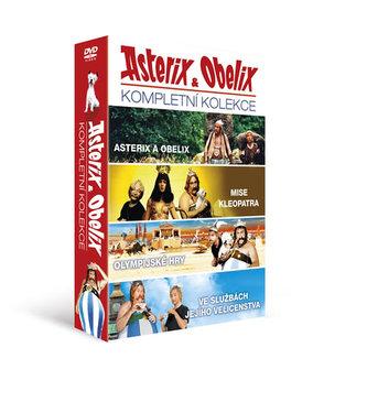 Asterix a Obelix - kolekce 4DVD/Asterix a Obelix, Asterix a Obelix: Mise Kleopatra, Asterix a Olypijské hry, Asterix a Obelix ve - neuveden
