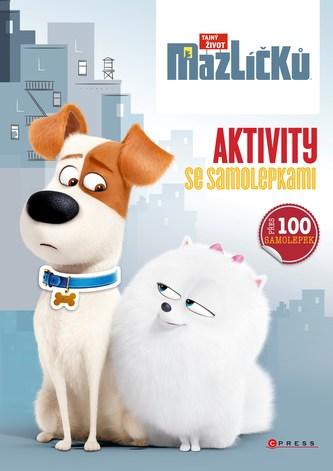Tajný život mazlíčků - Aktivity se samolepkami - Universal Studios