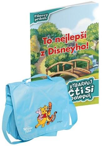 Vybarvuj, čti si + taška - Walt Disney