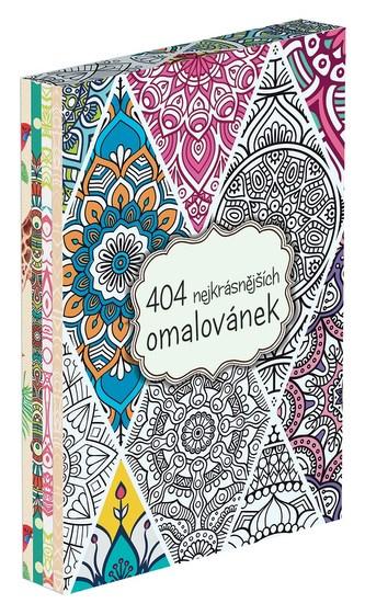 404 nejkrásnějších omalovánek BOX - autora nemá