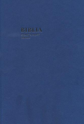 Biblia (modrá farba)
