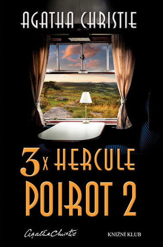 3x Hercule Poirot 2 - Christie Agatha