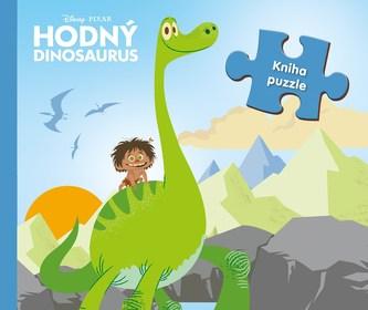 Hodný dinosaurus - kniha puzzle - nemá autora