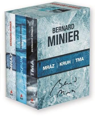 3 x Bernard Minier - box Mráz, Kruh, Tma - Bernard Minier