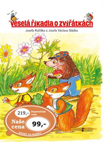 Veselá říkadla o zvířátkách - Josef Kožíšek; Václav Sládek