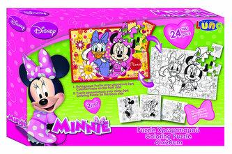 Puzzle Minnie 24 dílků - neuveden