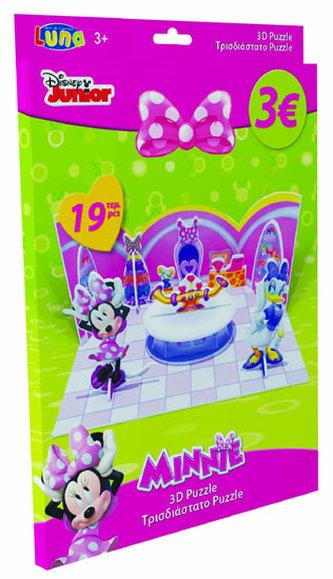 Puzzle 3D - Minnie - papírové - neuveden