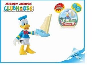 Mickey Mouse Club House figurka Donald kloubová 8cm v krabičce