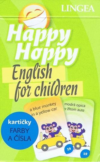 Happy Hoppy kartičky I: Farby a čísla