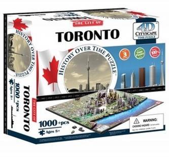 4D City Puzzle Toronto