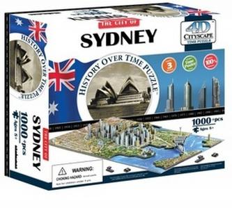 4D City Puzzle Sydney