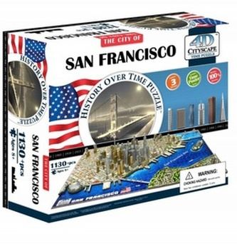 4D City Puzzle San Francisco