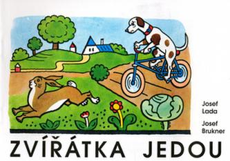 Zvířátka jedou - Josef Lada - omalovánka - Josef Brukner; Josef Lada