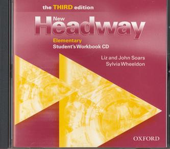 New Headway Elementary Studenťs Workbook CD - John a Liz Soars