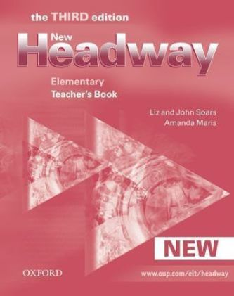 New Headway Elementary Teacher´s Book - Liz Soars; John Soars; Amanda Maris