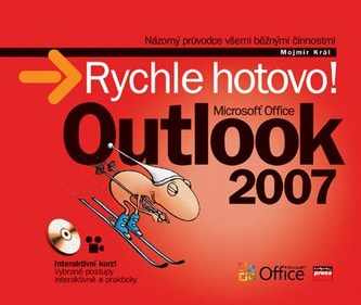 Microsoft Office Outlook 2007 + CD - Mojmír Král; Jakub Dvorský