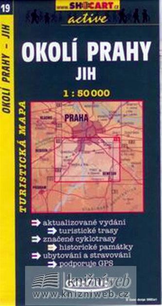 Okolí Prahy jih 1:50 000