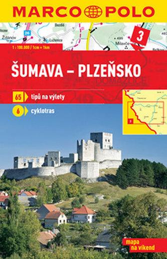 Šumava Plzeňsko 1:100 000