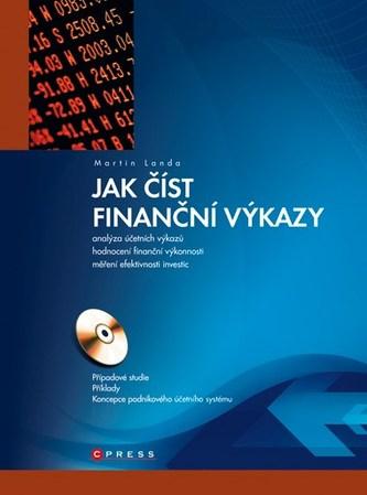 Jak číst finanční výkazy - Martin Landa
