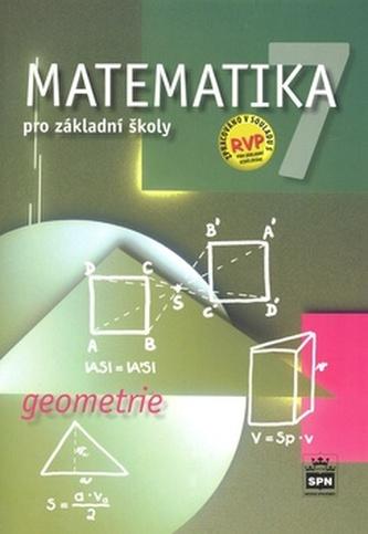 Matematika 7 pro základní školy Geometrie - Zdeněk Půlpán; Michal Čihák