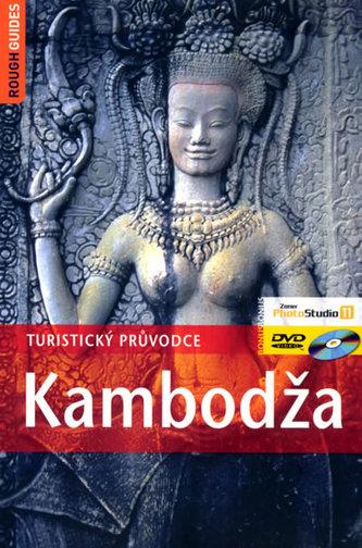 Kambodža + DVD - Beverley Palmer; Steve Martin