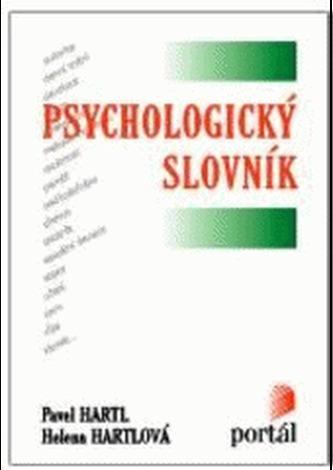 Psychologický slovník - Pavel Hartl; Helena Hartlová