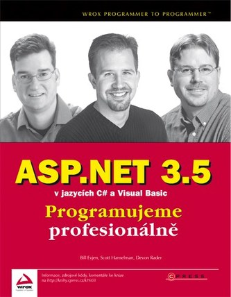 ASP.NET 3.5 v jazycích C# a Visual Basic - Bill Evjen