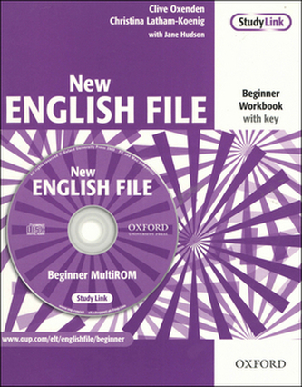 New English File Beginner Workbook with key + CD-ROM - Clive Oxenden