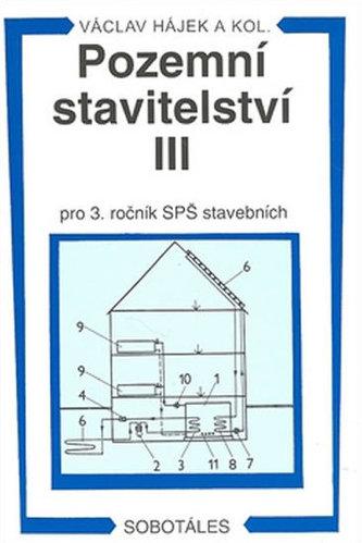 Pozemní stavitelství III pro 3. ročník SPŠ stavebních - Václav Hájek