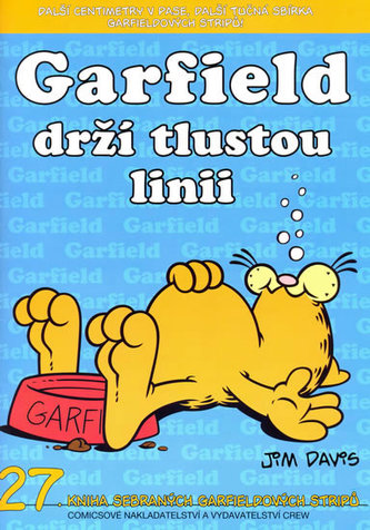 Garfield drží tlustou linii - Jim Davis