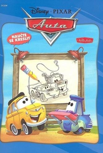 Auta Naučte se kreslit - Walt Disney