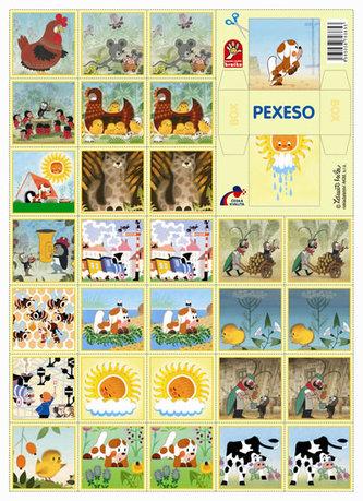 Pohádky - pexeso