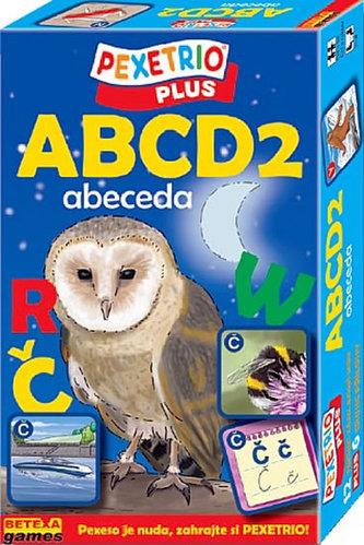 Pexetrio ABCD 2 Abeceda
