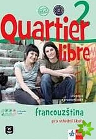Quartier libre 2 Francouzština pro střední školy