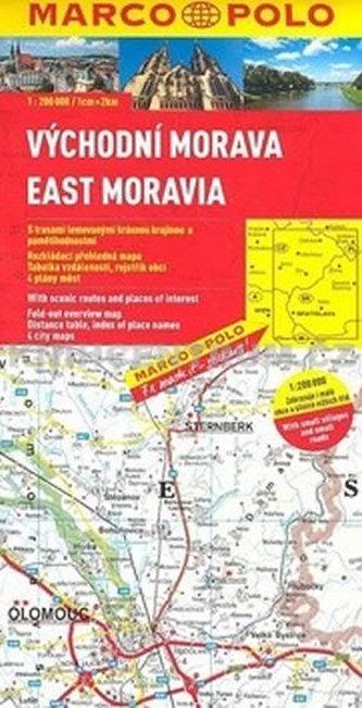 ČR 3 Východní Morava 1:200 000